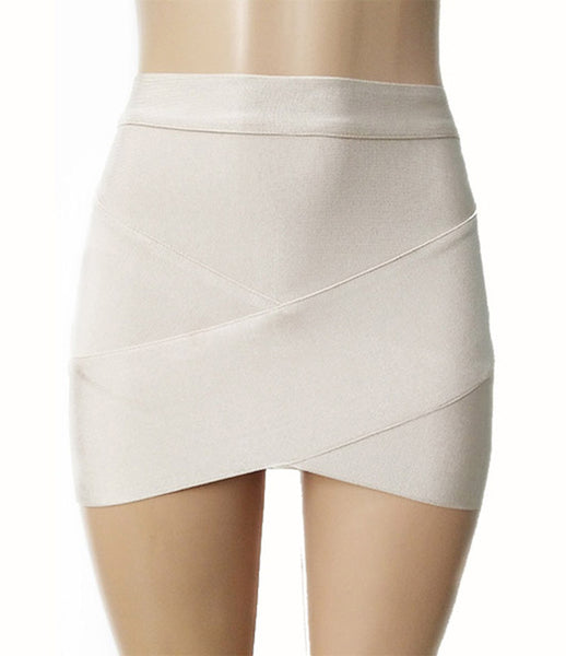 Women Hot Short Elastic Rayon Bandage Skirt Mini Sexy Slim Tight Pencil Night Club Party Candy 12 Colors Drop Shipping HL135-2
