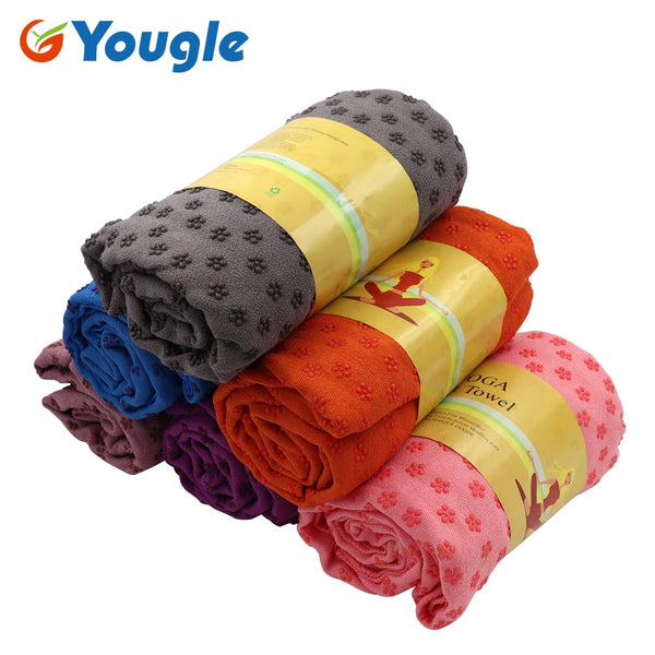 YOUGLE Non Slip Yoga Mat Cover Towel Blanket Sport Fitness Exercise Pilates Workout HOT
