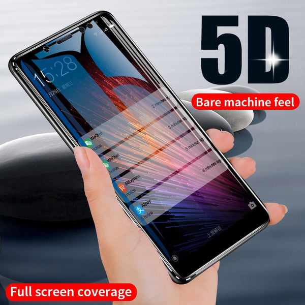 ZNP 5D Screen Protector Tempered Glass For Xiaomi Redmi Note 5 5A 7 Redmi 4X 5A 6A Protective Glass For Redmi 5 Plus 6 Pro Film