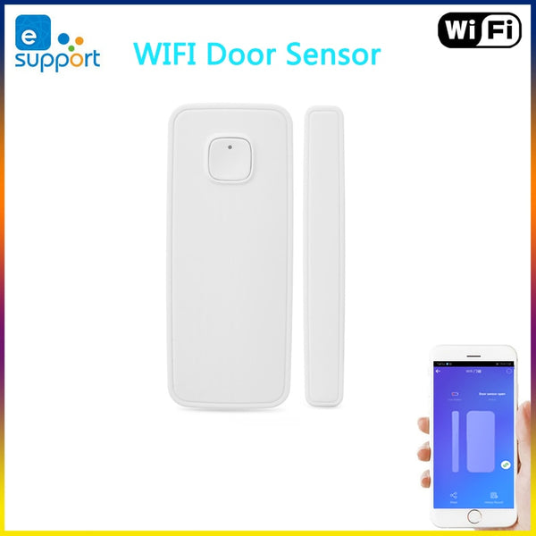 eWelink WiFi Door Sensor Door Open / Closed Detectors Linkage with the other WIFI Smart Switch on the APP