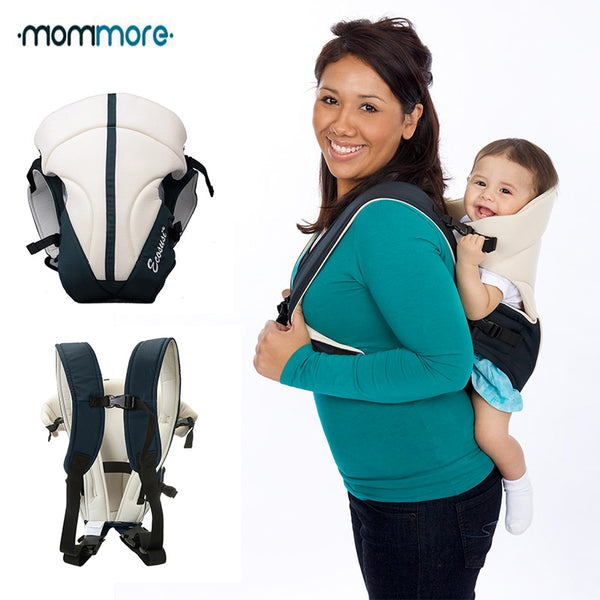 mommore Upgrade Front and Back Baby Carrier Comfort Baby Slings Fashion Infant Carrier Mummy Child Sling Wrap Bag