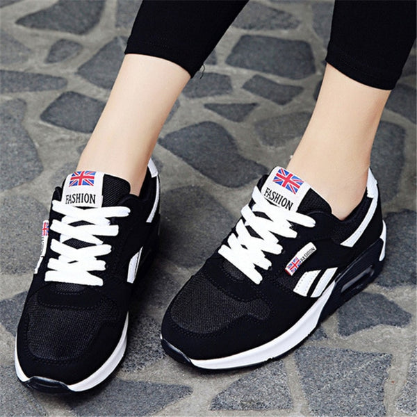 new  Hot Sale Sport shoes woman Air cushion Running shoes for women Outdoor Summer Sneakers women Walking Jogging Trainers N