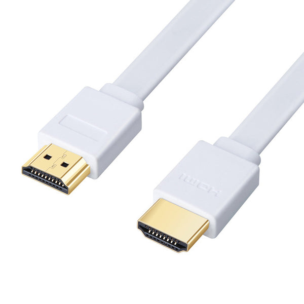 3FT 0.3M 1.5M 2M 3M 5M 7.5M 10M 15M Gold Plated Plug Male-Male HDMI Cable 1.4 Version Flat line short 1080p 3D for PS3HDTV
