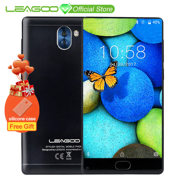 "LEAGOO KIICAA MIX 5.5"" Full Screen Android7.0 MTK6750T Octa Core Smartphone 3GB RAM 32GB Dual Back Cameras Fingerprint 4G Phone"