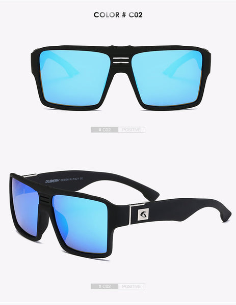 Polarized Sunglasses Men's Retro Male Goggle Colorful Sun Glasses For Men Fashion Brand Luxury Mirror Shades Cool Oculos