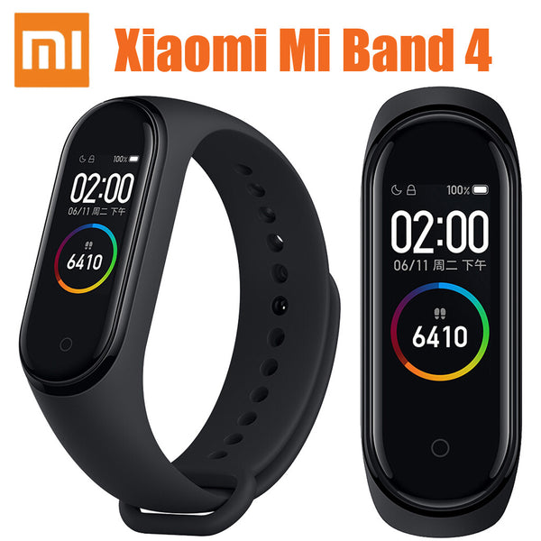 smartwatch Xiaomi Mi Band 4 Amoled Color Screen Wristband Bt5.0 Fitness Tracker Smart Watch wearable devices