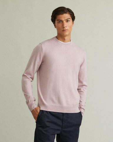 COTTON MERINO SWEATER