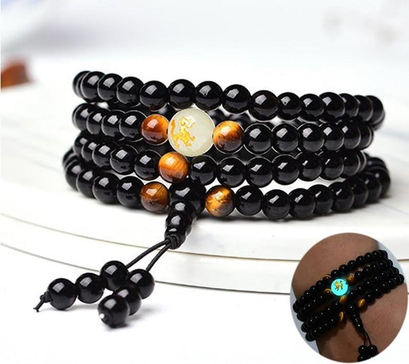 Ethnic Glow in the Dark Bracelet