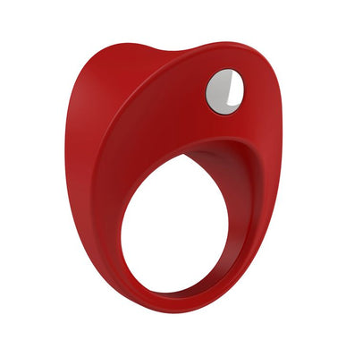 ANILLO VIBRADOR OVO B11 RED - Objeto de Placer - Piccolo Boutique