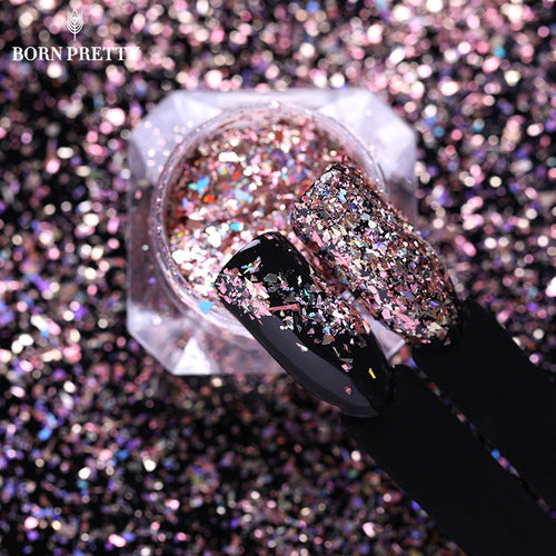 0.1 Holographic Powder Paillette DIY Nail Art Decoration
