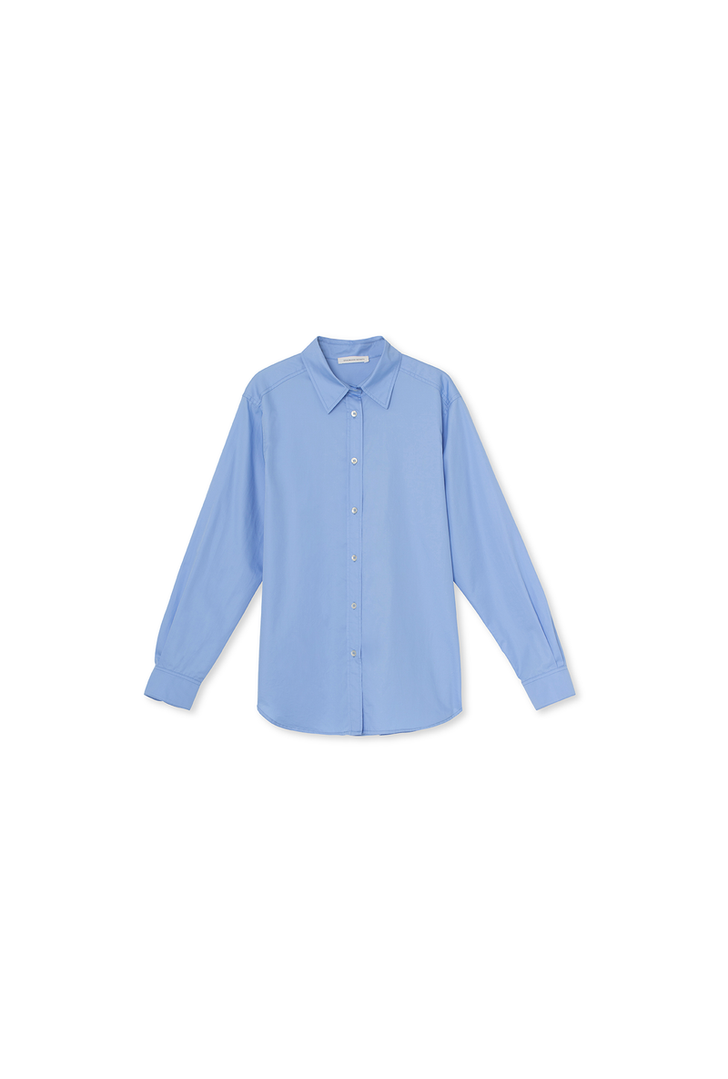 Cora Shirt - Cotton - Blue