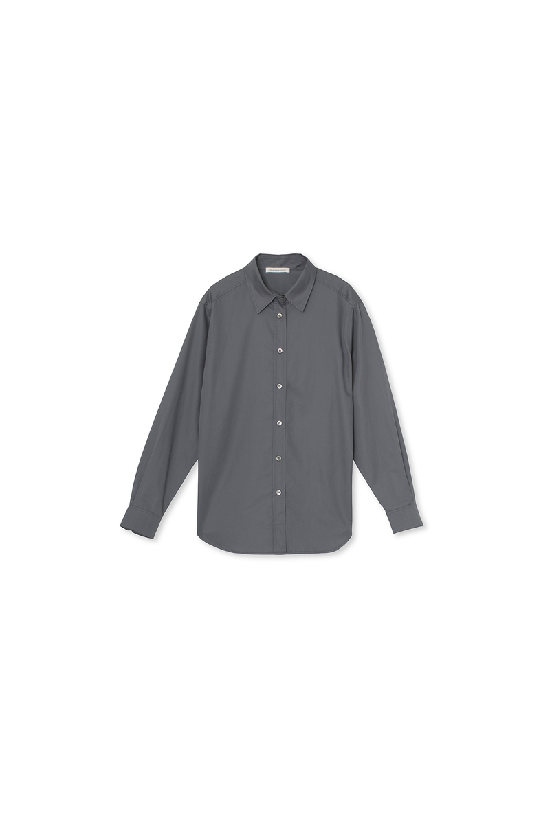 Cora Shirt - Cotton - Grey