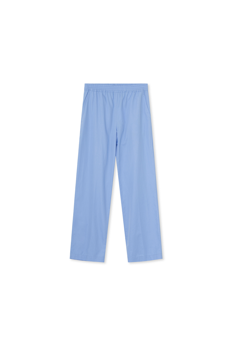 Julia Pants - Cotton - Blue