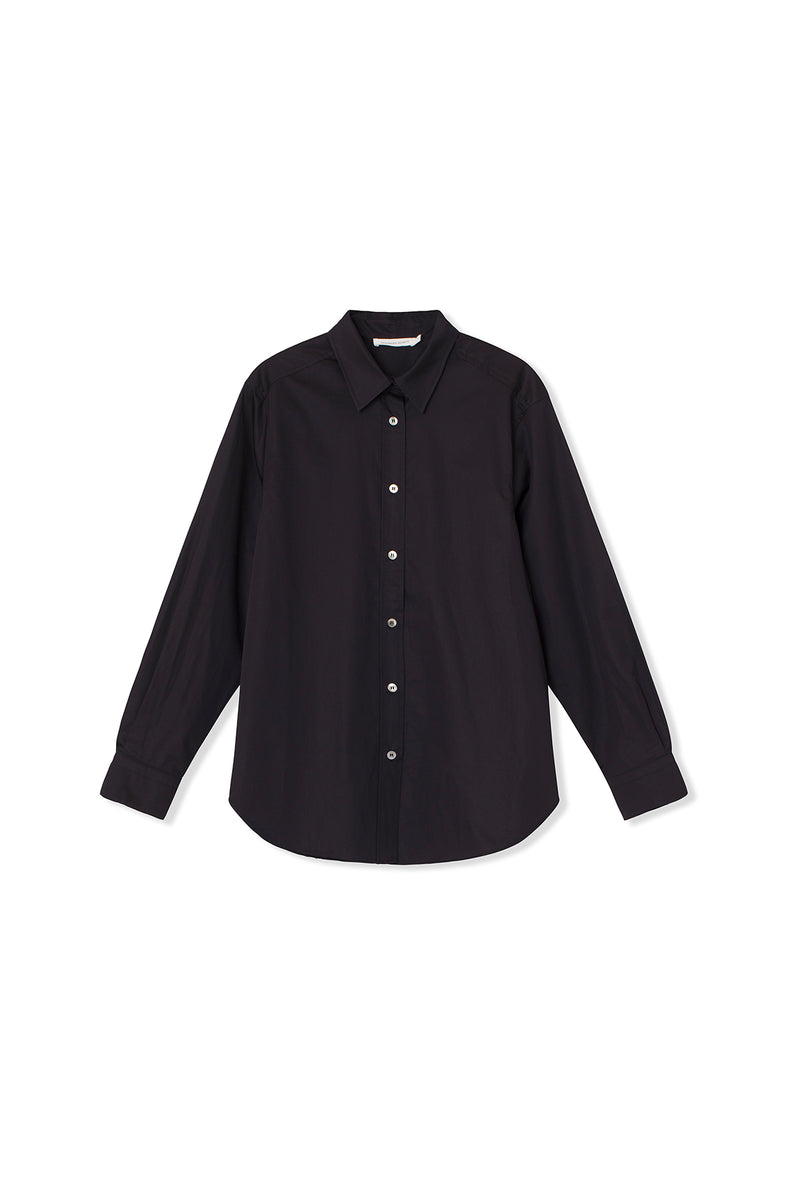 Cora Shirt - Cotton - Black