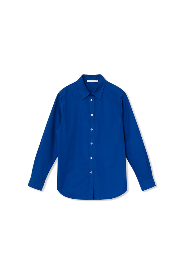 Cora Shirt - Cotton - True Blue
