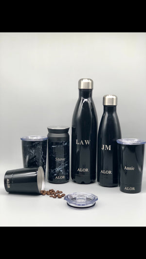 Personalised Reusable Water Bottle and Coffee Cups Sale