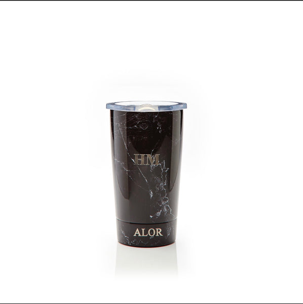 Black Marble Coffee Cup 350ml