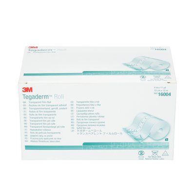 16004 Tegaderm Transparent Film Rolll 10 cm x 10 m (4 in x 11 Yd)