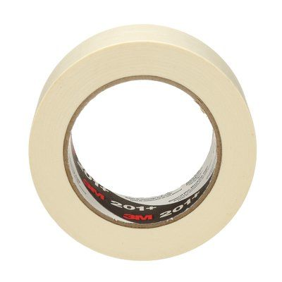 Masking Tapes 3M 201+48X55 General Use Masking Tape 201+ Tan 48mm x 55m