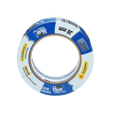 3M 2090-36NF Masking Tape 2090 Long Blue 36mm