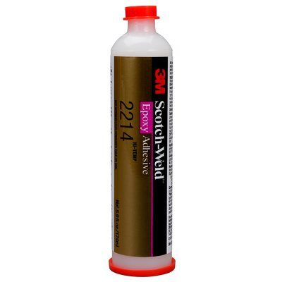 2214HT-CART Scotch-Weld High Temperature Epoxy Adhesive 2214 New Formula Grey 6 fl oz (177 ml) 6 Per Case 3M 7000046474