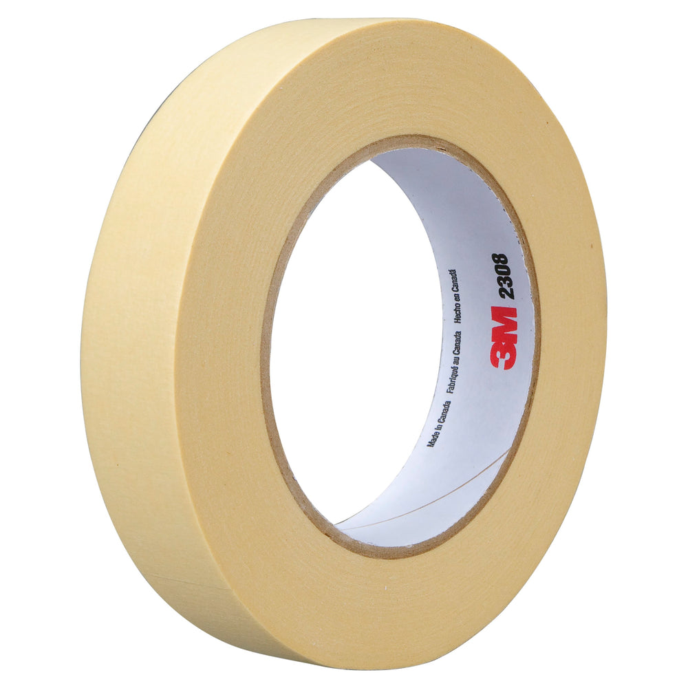 Masking Tapes 3M 2308-745X50 Scotch Masking Tape 2308 Tan 745mm x 50m