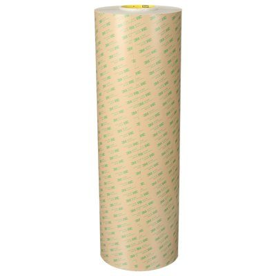 467MP-48X180 Adhesive Transfer Tape 467Mp Clear 2.0 Mil 48 in x 180 Yards (122 cm x 165 m)