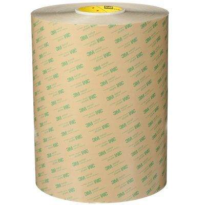Transfer Tapes 3M 468MP-60X180 Adhesive Transfer Tape 468MP Clear 60 Inch x 180yds (152.4cm x 165m)