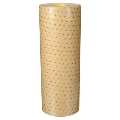 3M 9472-24X180 Adhesive Transfer Tape 9472 Clear 24 in x 18 Yards 5.0 Mil Bulk