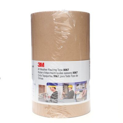 8067-9X75 All Weather Flashing Tape 806 Tan 9 in x 75 Ft Slit Liner