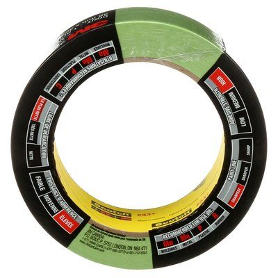 Masking Tapes 3M 03433C Automotive Masking Tape 233+ Green 1.4 Inch x 104' (36mm x 32 m)