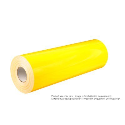 Safety Tapes 3M 4000-4081-36X50 Diamond Grade Dg³ Reflective Sheeting 4081 Fluorescent Yellow 36 Inch x 50yds