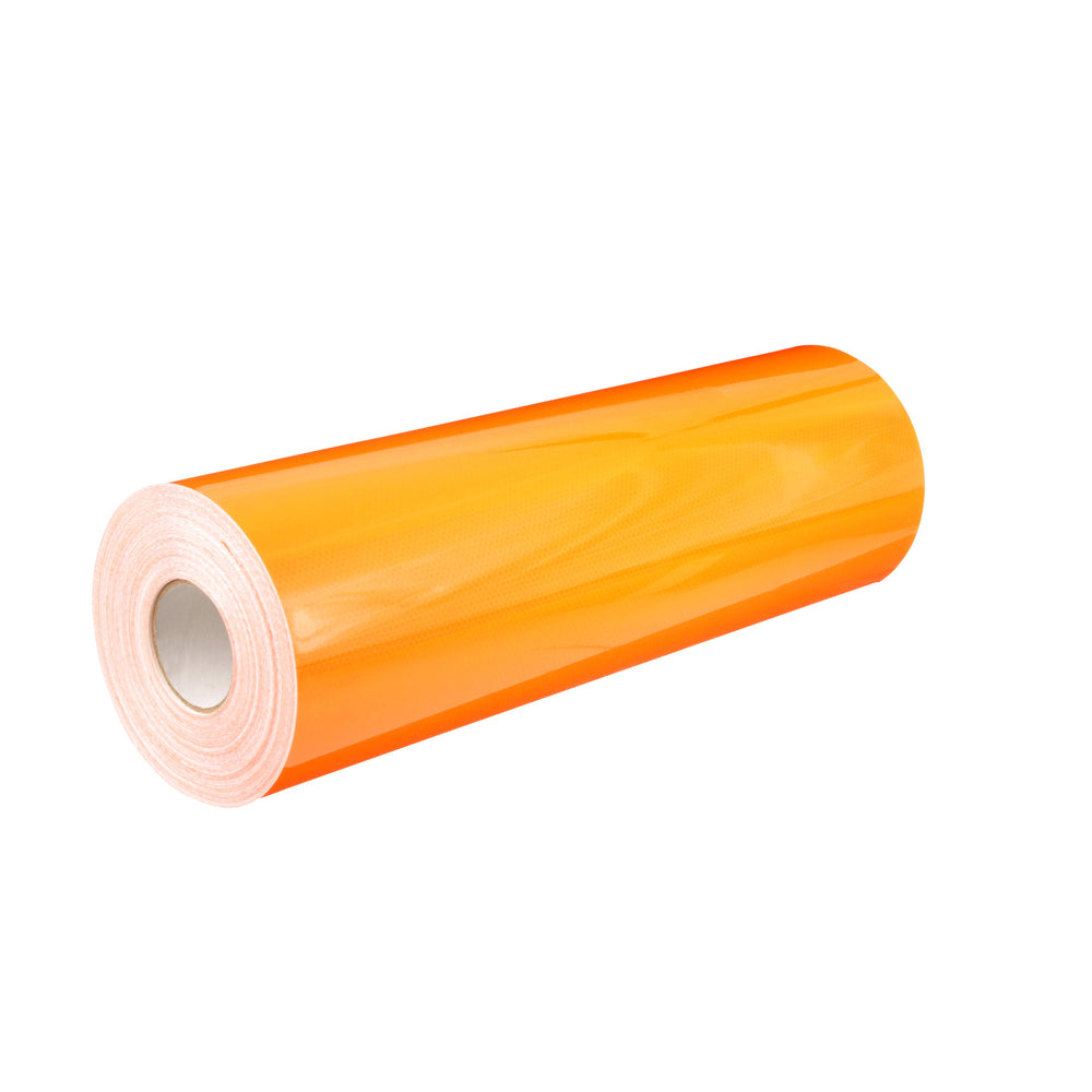 3M 4000-4084-24X50 Diamond Grade DG³ Durable Reflective Sheeting, 4084, Fluorescent Orange, 24 Inch x 50yds