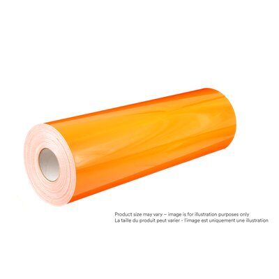 3M 4000-4084-48X50 Diamond Grade DG³ Durable Reflective Sheeting, 4084, Fluorescent Orange, 48 Inch x 50yds
