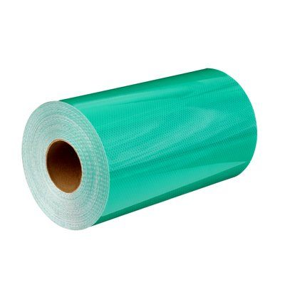 Safety Tapes 3M 4000-4097-13X50 Diamond Grade Dg Reflective Sheeting 4097 Green 13 Inch x 50yds