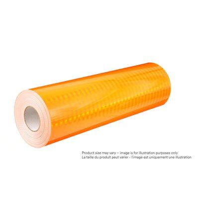 3M 3924S-48X50 Diamond Grade Fluorescent Work Zone Sheeting, 3924S, Fluorescent Orange, 48 Inch x 50yds