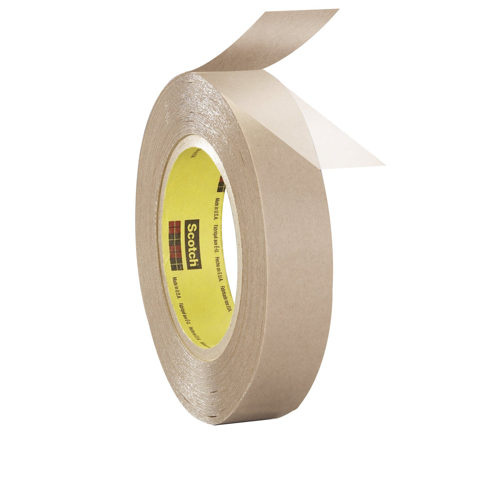 Double Sided Tapes 3M 9832-54X60 Double Coated Tape 9832 Clear 4.8 mil 54 Inch x 60yds (137.2 cm x 55m)