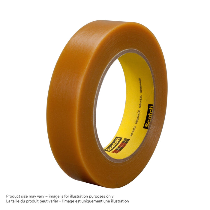 Electroplating Tapes 3M 484-1X36 Electroplating/Anodizing Tape 484 Tan 1 Inch x 36yds 7.2mil