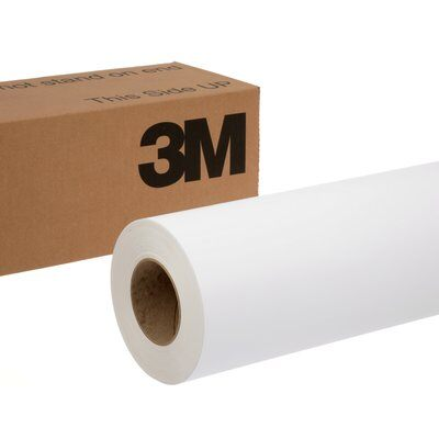 Graphic Film 3M 180C-10-48X50 Controltac Graphic Film With Comply Adhesive 180C-10 White 48 Inch x 50yds (1.2 m x 45.7m)