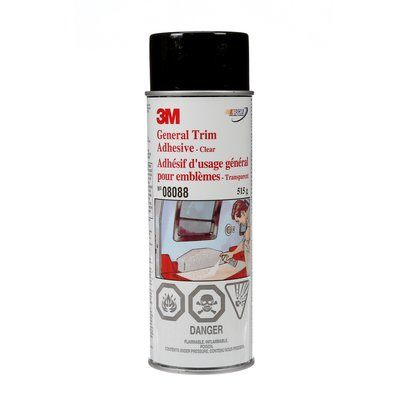Trim Adhesives 3M 8088 General Trim Adhesive 0 18 Oz (515 G)