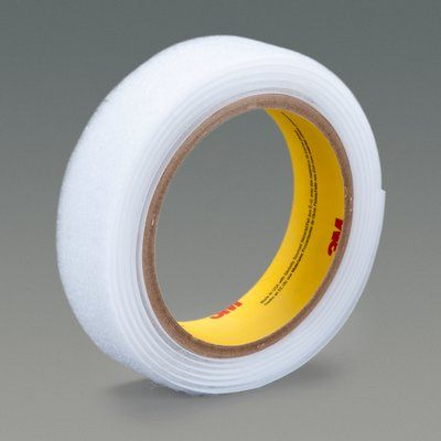 3M SJ3532NFSR-1X50WHT Fastener Hook Sj3532Nfsr White Functional Splice 1 in x 50 Yards 0.15 in Engaged Thickness 3 Roll Bulk