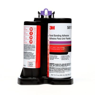 3M 3M7100016211 3M Panel Bonding Adhesive, 58115, 15.2 fl. oz. (450 ml) 3M 3M7100016211