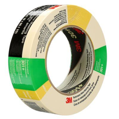 3M Office Products Home and Office Masking Tape Scotch 1 Inch x 55 Yards,Tan 3437 R