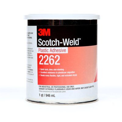 Plastic Adhesives 3M 2262-1QT Scotch-Weld Plastic Adhesive 1 Qt