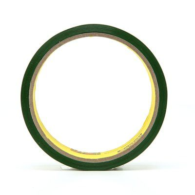 Riveter Tapes 3M 685-1X36 Riveters Tape 685 Transparent With Green Adhesive 1 Inch x 36yds