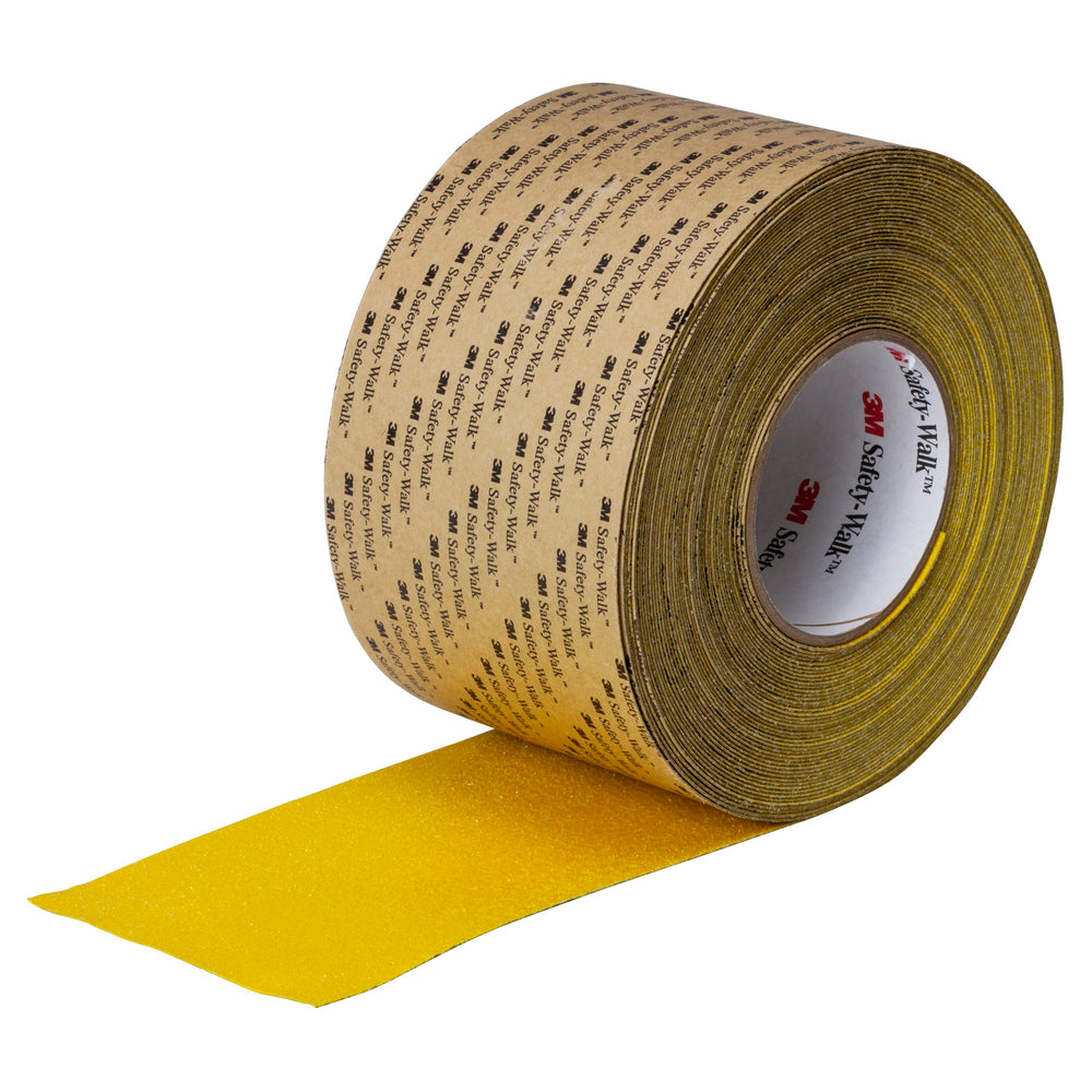 Safety Tapes 3M F-530-YLW-3X60 Safety-Walk Slip-Resistant Conformable Tape 530 Safety yellow 3 Inch x 60' (76.2 mm x 18.23 m)