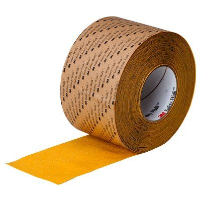 Safety Tapes 3M F-630-SYL-12X60 Safety-Walk Slip-Resistant General Purpose Tapes and Treads 630 Safety Yellow 12 Inch x 60'