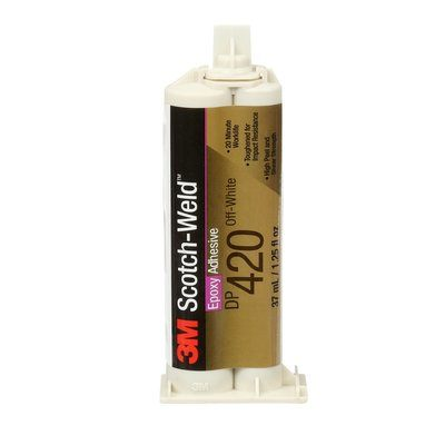 DP420-400ML-BLK Dp420 Epoxy Adhesive Black 400 ml Duo-Pak 6 Per Pack