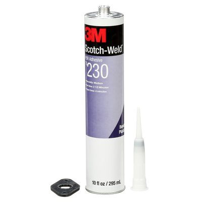 Reactive Adhesives 3M TS230-CART-WHT Scotch-Weld Polyurethane Reactive Adhesive Ts230 White 310 ml