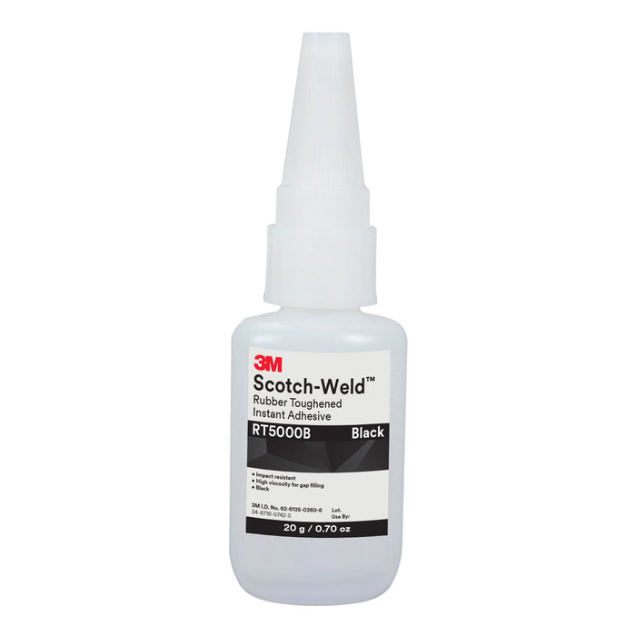 Instant Adhesives 3M RT5000B-20G Scotch-Weld Rubber Toughened in